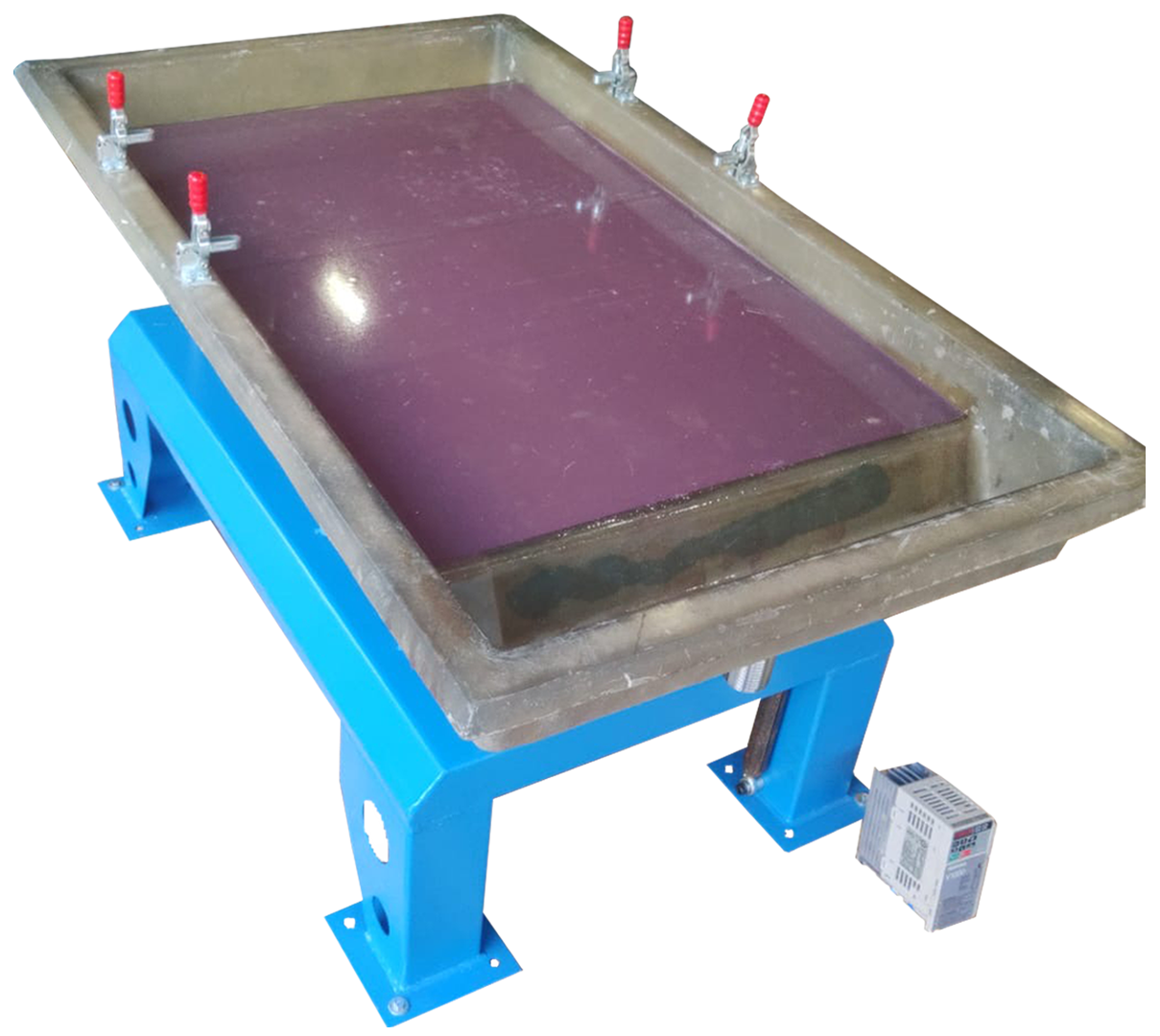 KFP RAIL Tremiwave Mineral Sorting Table